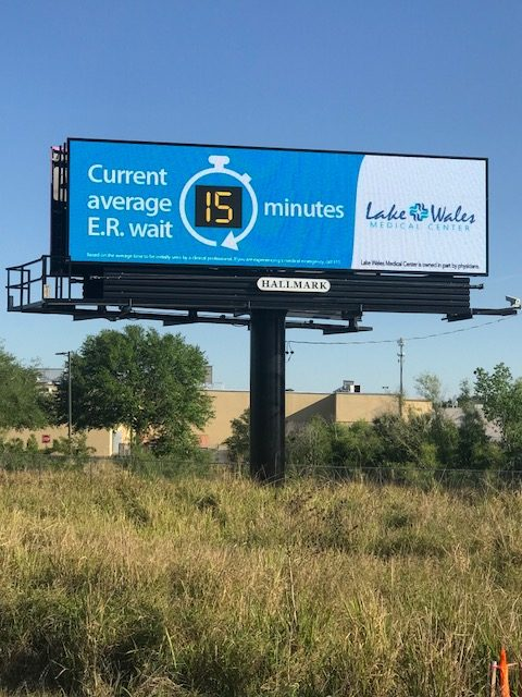 Outdoor-Advertising-10 - Sign #154 RHR-Lake Wales Medical Center